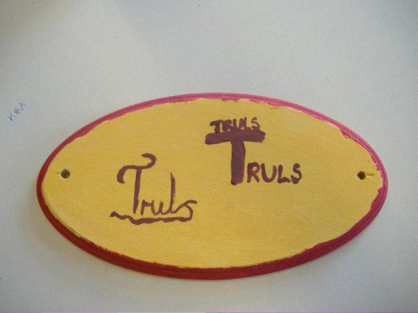 truls-skilt