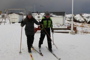 På mållinja ski